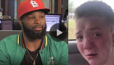Tyron Woodley and Keaton Jones.