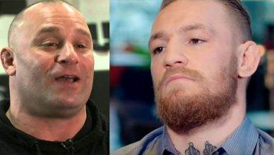 Matt Serra and Conor McGregor.