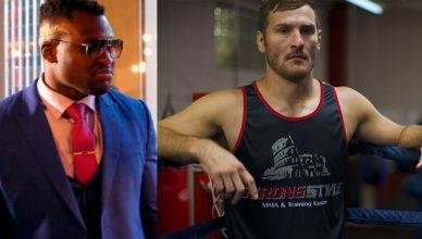 Francis Ngannou and Stipe Miocic.