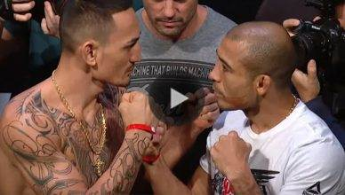Max Holloway vs. Jose Aldo rematch for the UFC featherweight title at UFC 218.