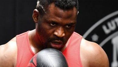 UFC heavyweight star, Francis Ngannou.