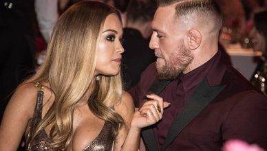 UFC lightweight champion Conor McGregor on date night with Rita Ora.