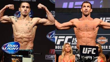 Robert Whittaker and Luke Rockhold.