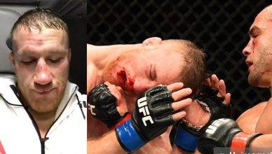 Justin Gaethje went to war with Eddie Alvarez at UFC 218.
