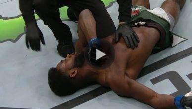 UFC Results: Marlon Moraes def. Aljamain Sterling via knockout in round one.
