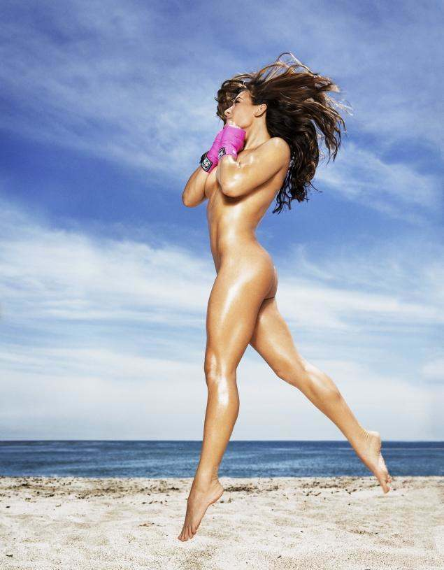 Miesha Tate undergoes nude photoshoot for ESPN