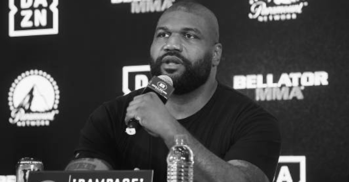 Rampage Jackson Involved In Accident, Hit By A Truck