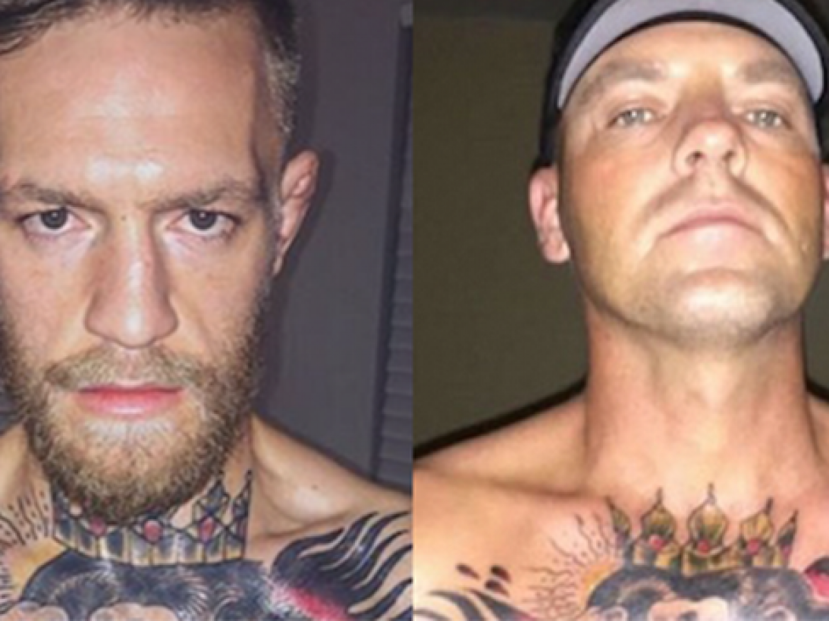Jacked Mma Fan Gets Same Exact Chest Tattoo As Conor Mcgregor Mma Imports
