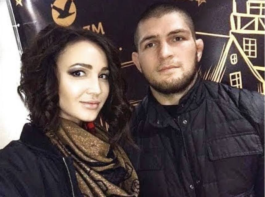 Rare Photo Of Khabib With His Unveiled Wife Emerges Following Ufc 229 Win Mma Imports